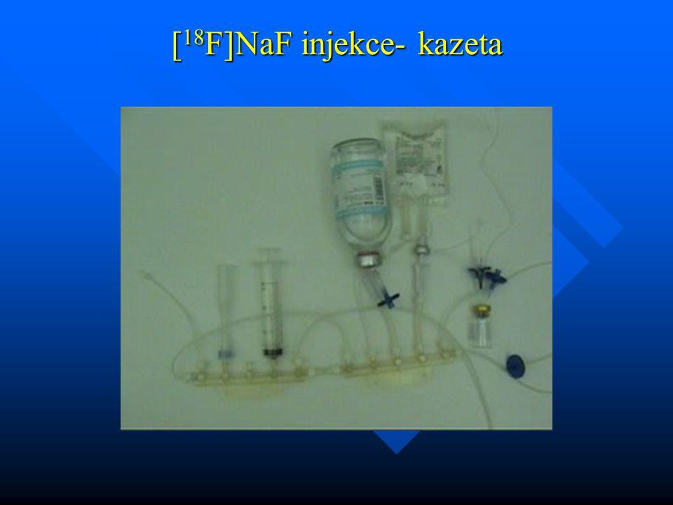 [18F]NaF injekce- kazeta
